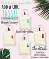 San Diego Skyline Tropical Welcome Bachelorette Party Tote Bag