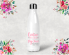 Caution May Contain Alcohol Bachelorette Party Water Bottle -Swell Style Water Bottle