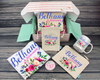 Dainty Floral Personalized Bridesmaid Proposal Box – Personalized Bridesmaid Gift - Will You Be My Bridesmaid