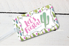 Lets Fiesta Mexico Bachelorette Party Luggage Tag