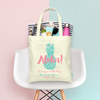 Aloha Pineapple Destination Wedding Tote Bag