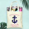 Anchors Aweigh Cruise-Destination Wedding Tote Bag