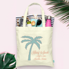 Destination Wedding Palm- Wedding Welcome Tote Bag