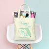Destination State Map - Wedding Welcome Tote Bag
