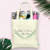 Laurel Leaf Wedding Welcome Tote Bag