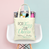 Pop Fizz Clink Cheers Wedding Welcome Tote Bag