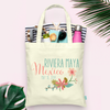 Floral Destination Wedding Welcome Tote Bag