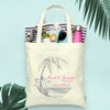 Surf Beach Wedding Welcome Destination Wedding Tote Bag