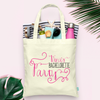 Fancy Bachelorette Personalized Tote Bag