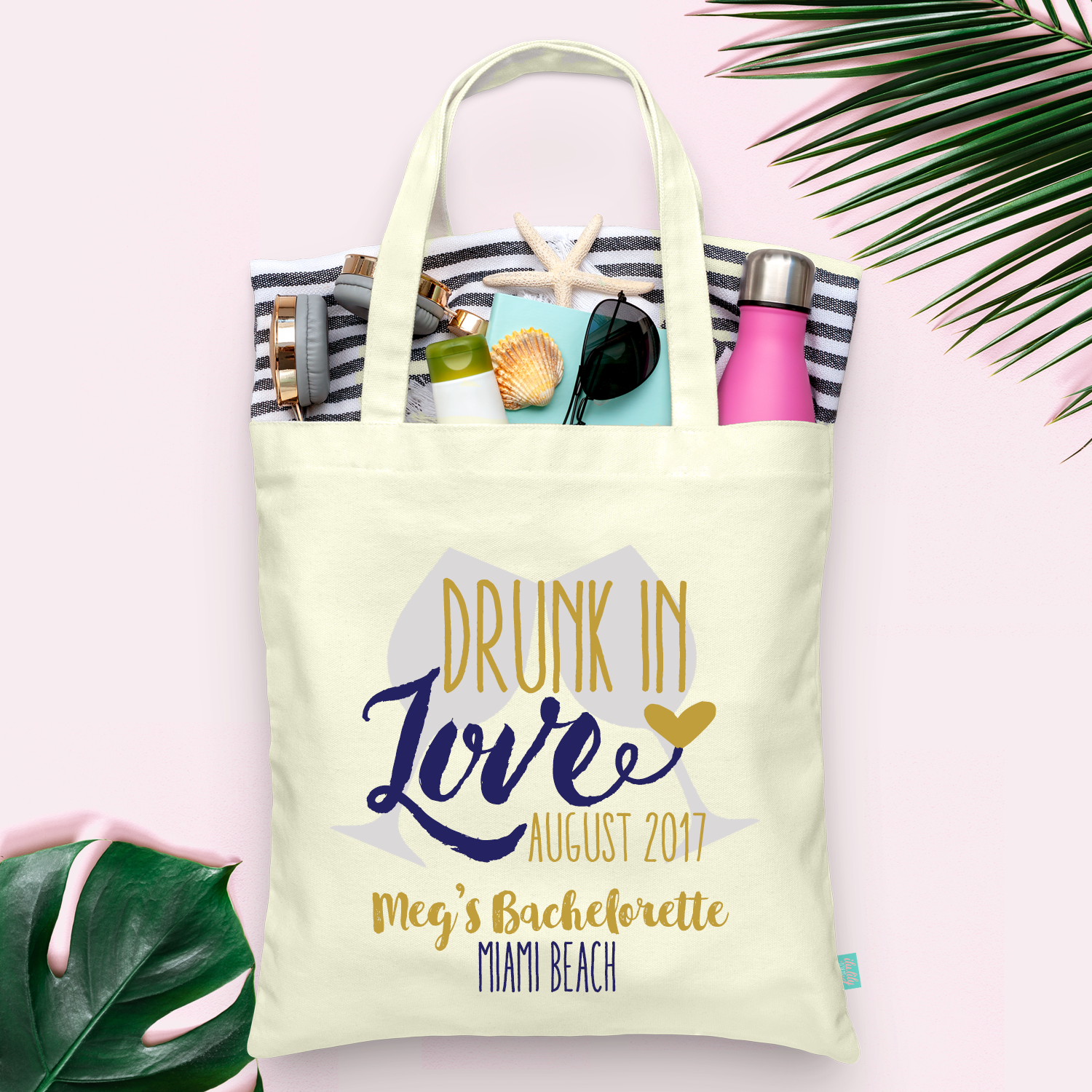 Drunk in Love Bachelorette Party -Wine Country Vineyard Bachelorette Tote