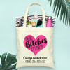 Cheers Bitches Lets Party Bachelorette Tote Bag