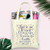 Confetti Time to Drink Champagne -Wedding Tote Bag