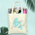 Last Splash Mermaid Theme Beach Bachelorette Tote Bag