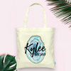 Agate Slices Bridal Party Personalized Tote
