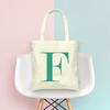 Basic Initial Bridal Party Wedding Tote