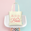 BFF of the Bride Wedding Tote Bag