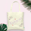 Floral Bridesmaid -Bridal Party Tote Bag