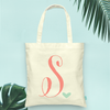 Initial Bridal Party Wedding Tote