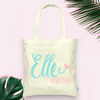 Funky Personalized Bridesmaid- Bridal Party Tote