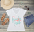 Bride's Flock Lets Flamingle Flamingo T-Shirt -Beach Bachelorette