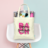 Bach Floral Bachelorette Party Destination Beach Bachelelorette Party Tote Bag