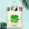 St Patricks Day Lucky in Love St Pattys Day Bachelorette Party Tote Bag