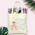Eat Drink and Get Pampered Bachelorette | Spa Party Tote Bag Favor