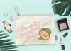 Savannah Georgia Bachelorette Favor Makeup Bag