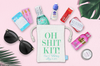 Fancy Oh Shit Kit Wedding Hangover Favor Bag