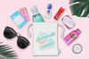 Pucker Up Bachelorette Essentials Favor Bag