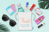 Personalized Thanks -Wedding Welcome Favor Bag