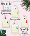 Retro Destination Palm Wedding Tote Bag