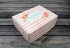 The Bride to Be Floral Gift Box Bride Box, Engagement Box, Engagement Gift