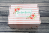 Floral Bride Gift Box Bride Box, Engagement Box, Bride to Be Gift