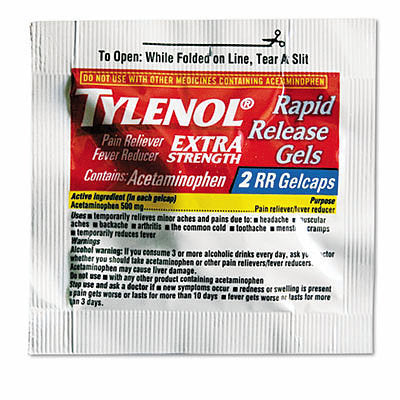 Hangover Kit Filler - Tylenol Extra Strength