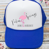 Palm Springs Flamingo Bachelorette Party Trucker Hat