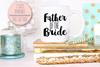 Father of the Bride Funky Mug -Bridal Party Mug