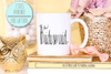 Fancy Bridesmaid Heart -Bridal Party Mug