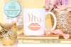 Mrs Lips Wedding Mug