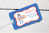 Las Vegas Bachelorette Luggage Tag