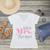 Future Mrs Personalized V-Neck T-Shirt Fashion Tee