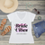 Bride Vibes Personalized V-Neck T-Shirt Fashion Tee