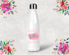 Personalized Boho Bridal Party Water Bottle -Swell Style Water Bottle