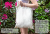 Bienvenidos Palm Destination Wedding Tote Bag