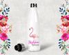 Flamingo Personalized Bridal Party Water Bottle -Swell Style Water Bottle