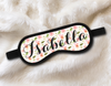 Floral Personalized Sleep Masks - Personalized Sleep Mask - Bachelorette Party Favors