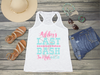 Last Bash in Nash Nashville Bachelorette Racerback Tank Top