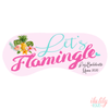 Lets Flamingle Personalized Sleep Masks - Personalized Sleep Mask - Bachelorette Party Favors