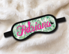 Tropical Personalized Sleep Masks - Personalized Sleep Mask - Bachelorette Party Favors