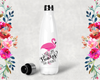 Where My Beaches Flamingo Bachelorette Party Water Bottle -Swell Style Water Bottle